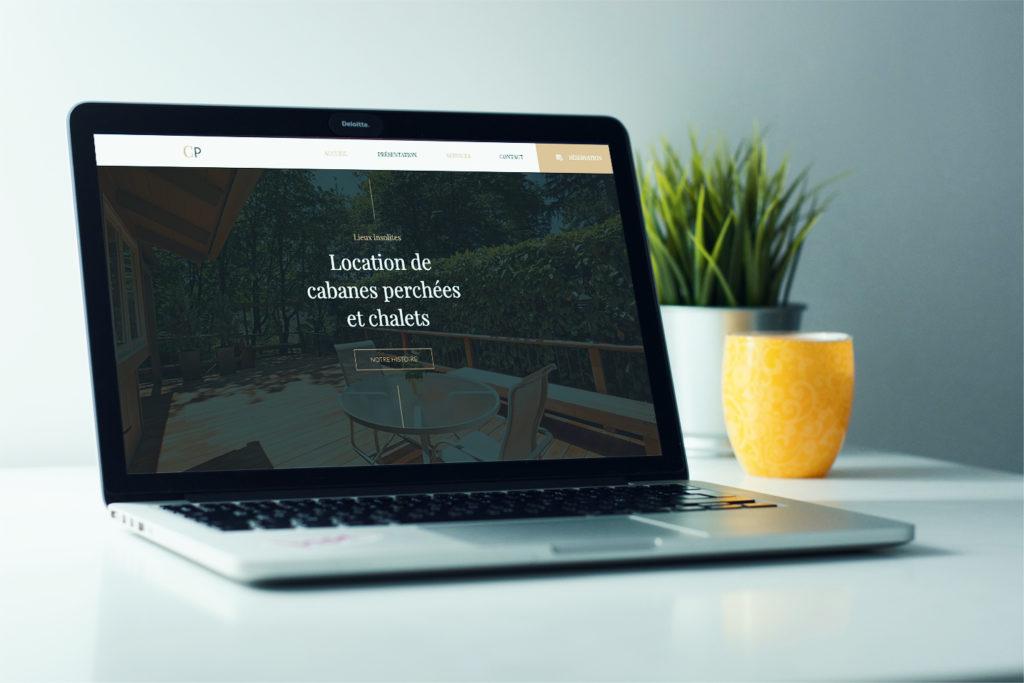 Webdesign page d'Accueil site web